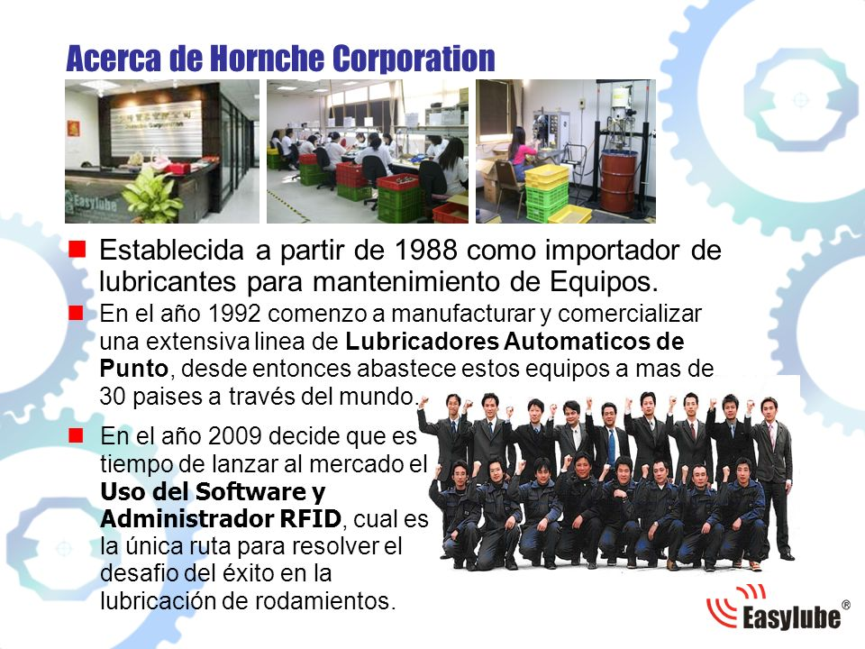 Acerca de Hornche Corporation