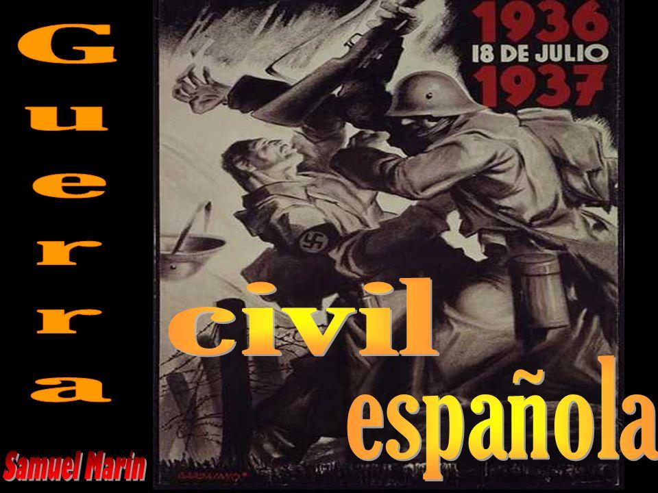 Guerra civil española Samuel Marin