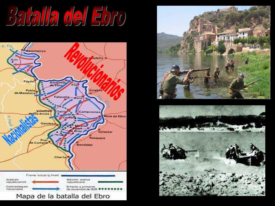 Batalla del Ebro Revolucionarios Nacionalistas