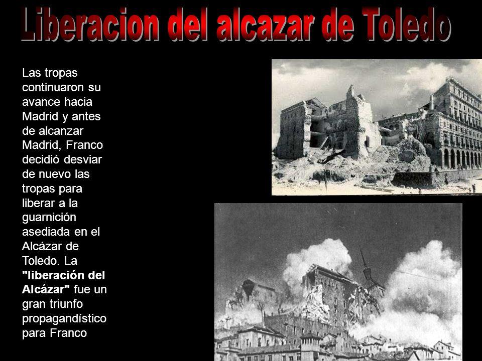 Liberacion del alcazar de Toledo