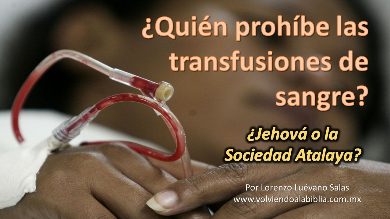 ¿Jehová o la Sociedad Atalaya