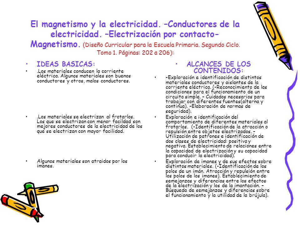 ALCANCES DE LOS CONTENIDOS: