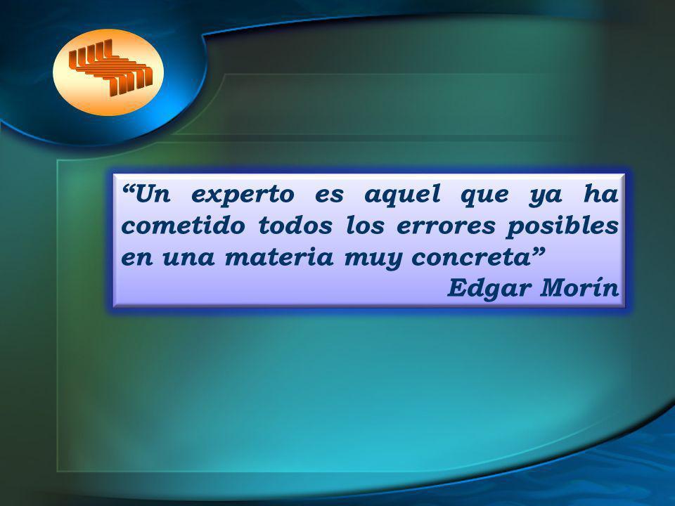 Un experto es aquel que ya ha cometido todos los errores posibles en una materia muy concreta