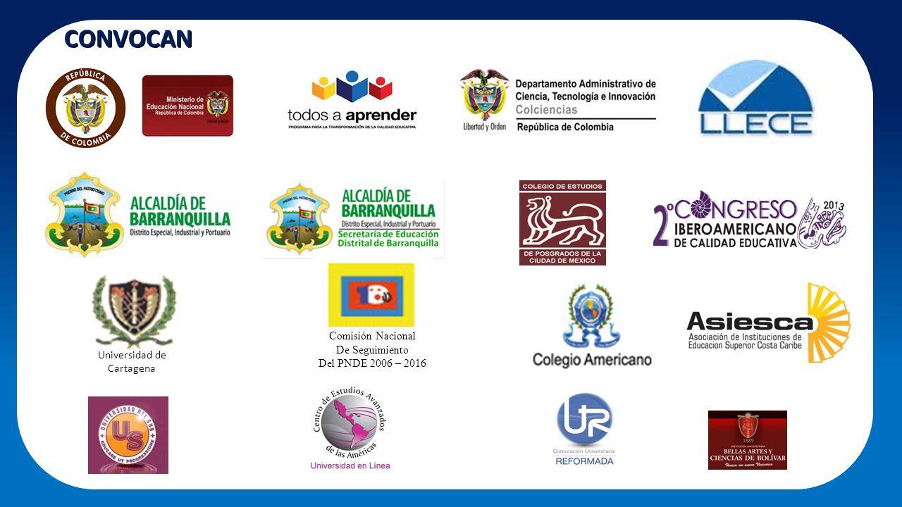 CONVOCAN Comisión Nacional De Seguimiento Del PNDE 2006 – 2016