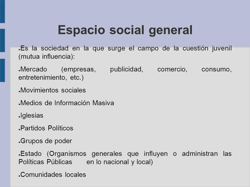 Espacio social general