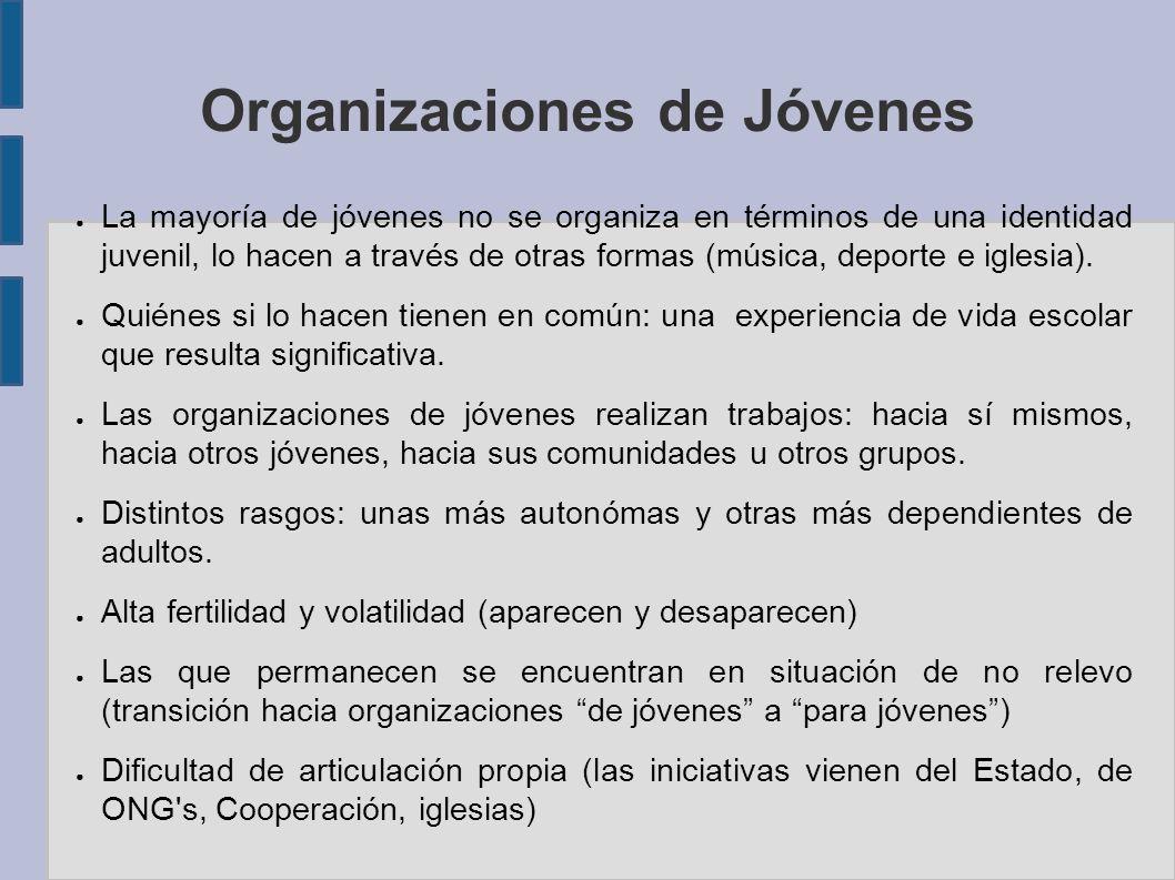 Organizaciones de Jóvenes