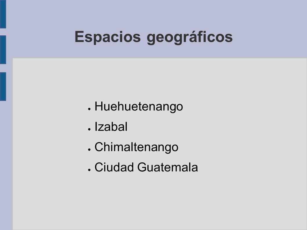 Huehuetenango Izabal Chimaltenango Ciudad Guatemala