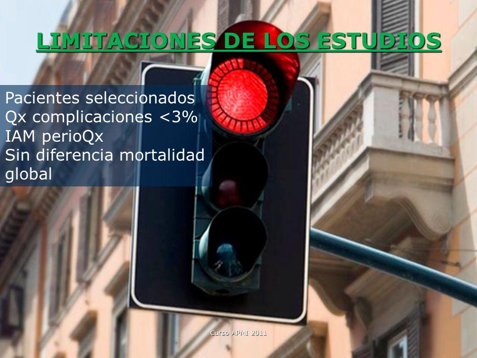 LIMITACIONES DE LOS ESTUDIOS