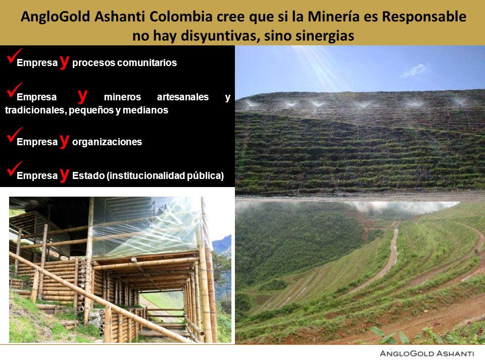 AngloGold Ashanti Colombia cree que si la Minería es Responsable