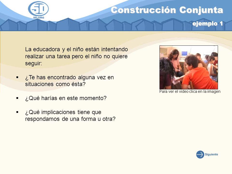 Construcción Conjunta ejemplo 1
