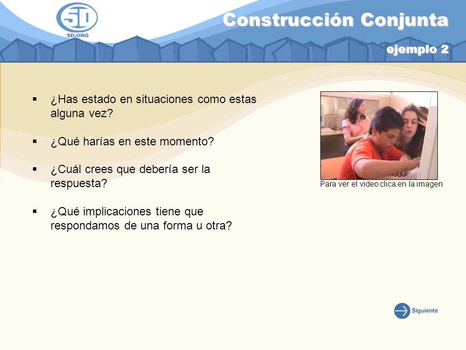 Construcción Conjunta ejemplo 2