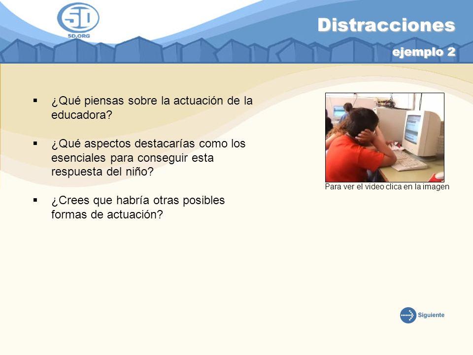 Distracciones ejemplo 2