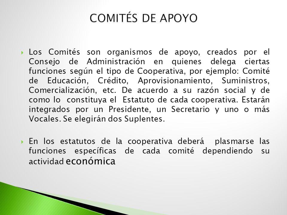 Comités de Apoyo