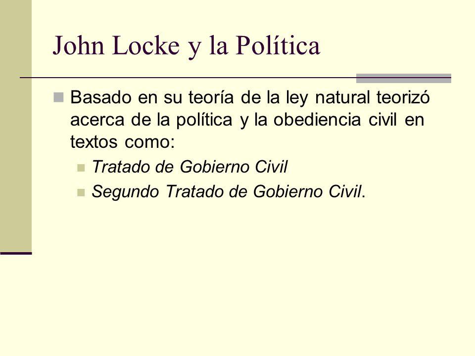 John Locke y la Política
