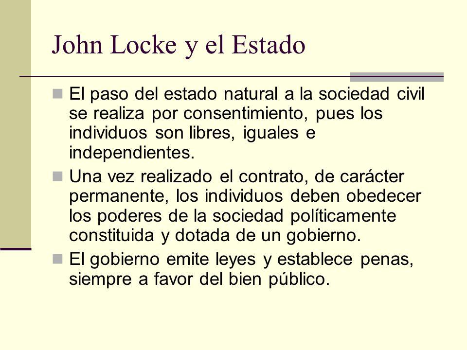 John Locke y el Estado