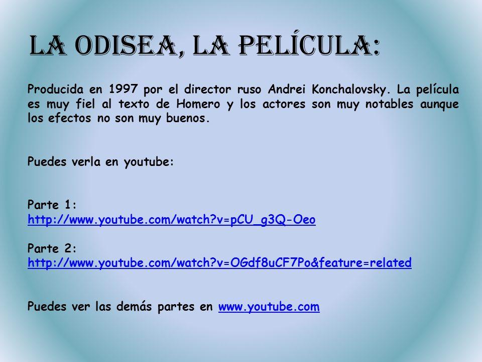 La Odisea, la película: