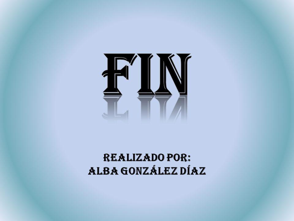 Realizado por: Alba gonzález díaz