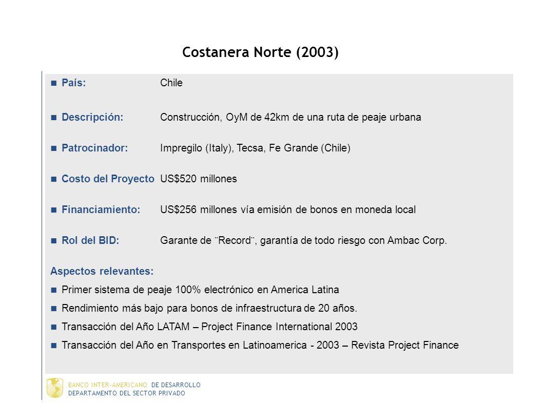 Costanera Norte (2003) País: Chile