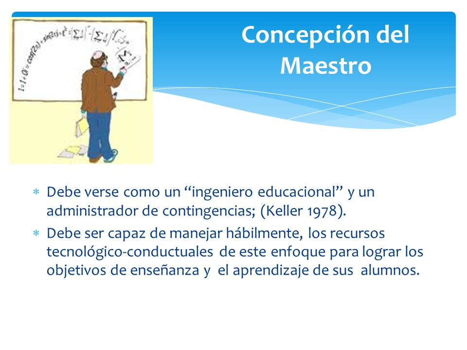 Concepción del Maestro