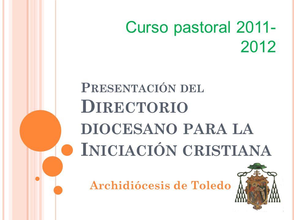 Presentación del Directorio diocesano para la Iniciación cristiana