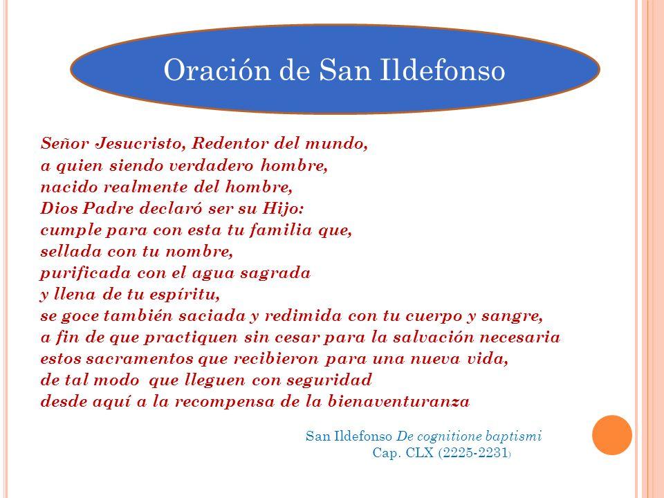 Oración de San Ildefonso