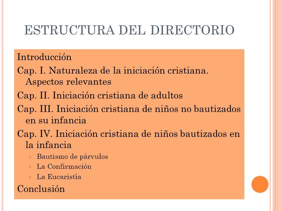 estructura del directorio