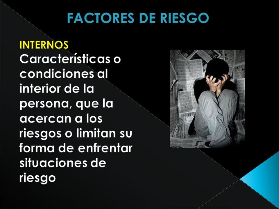 FACTORES DE RIESGO INTERNOS.