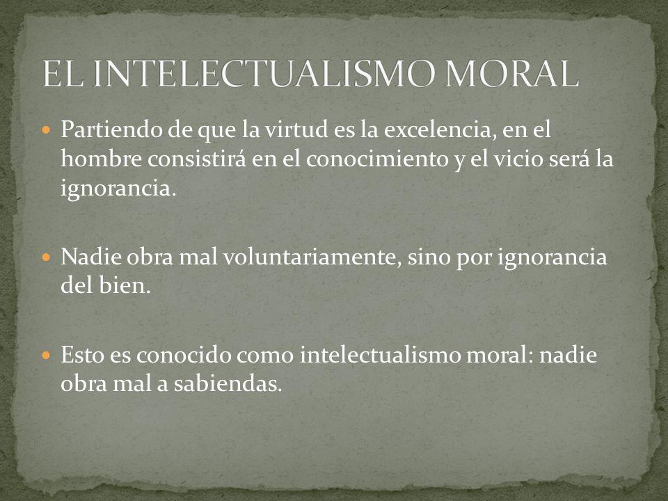 EL INTELECTUALISMO MORAL