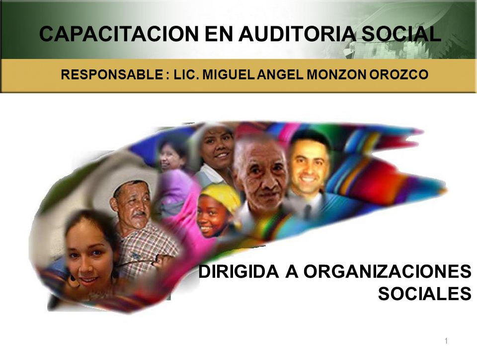 CAPACITACION EN AUDITORIA SOCIAL