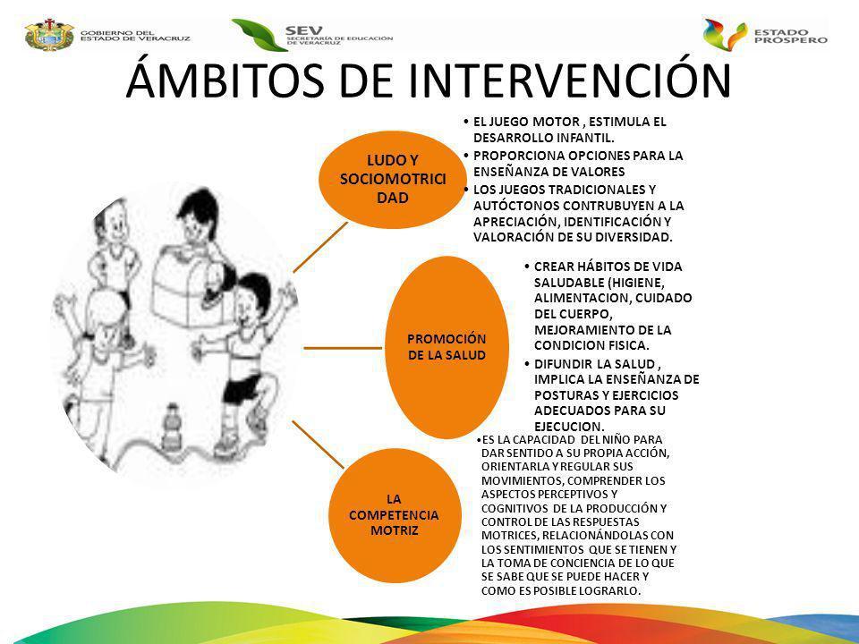 ÁMBITOS DE INTERVENCIÓN