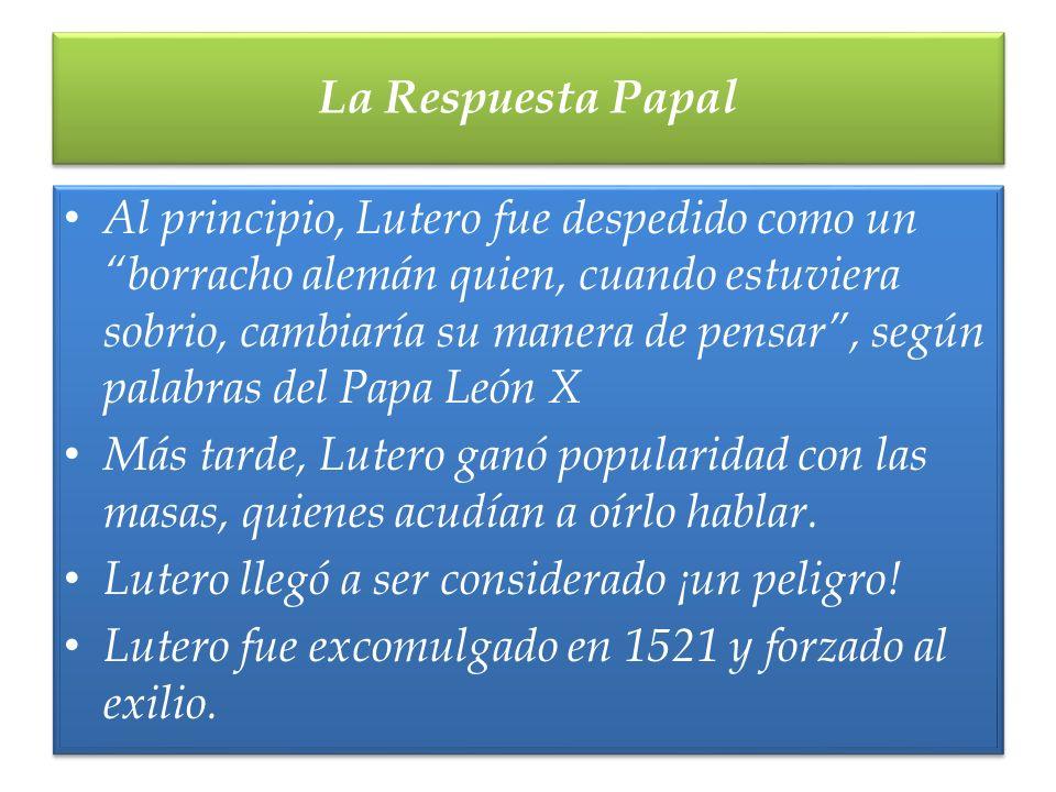 La Respuesta Papal