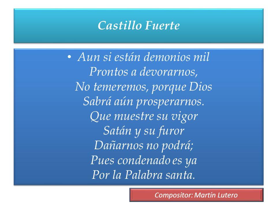Compositor: Martín Lutero