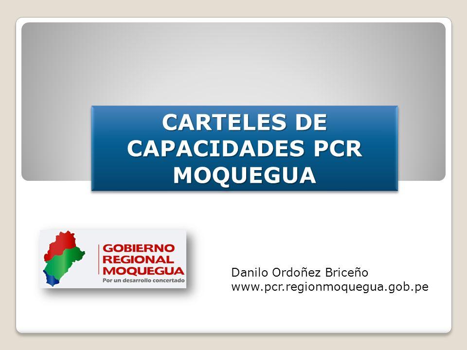 CARTELES DE CAPACIDADES PCR