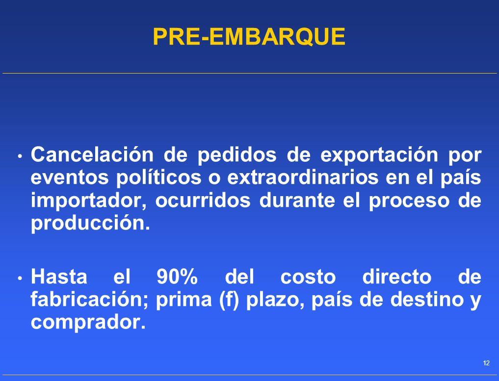 PRE-EMBARQUE