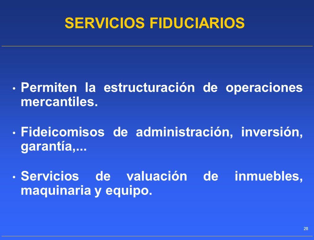 SERVICIOS FIDUCIARIOS