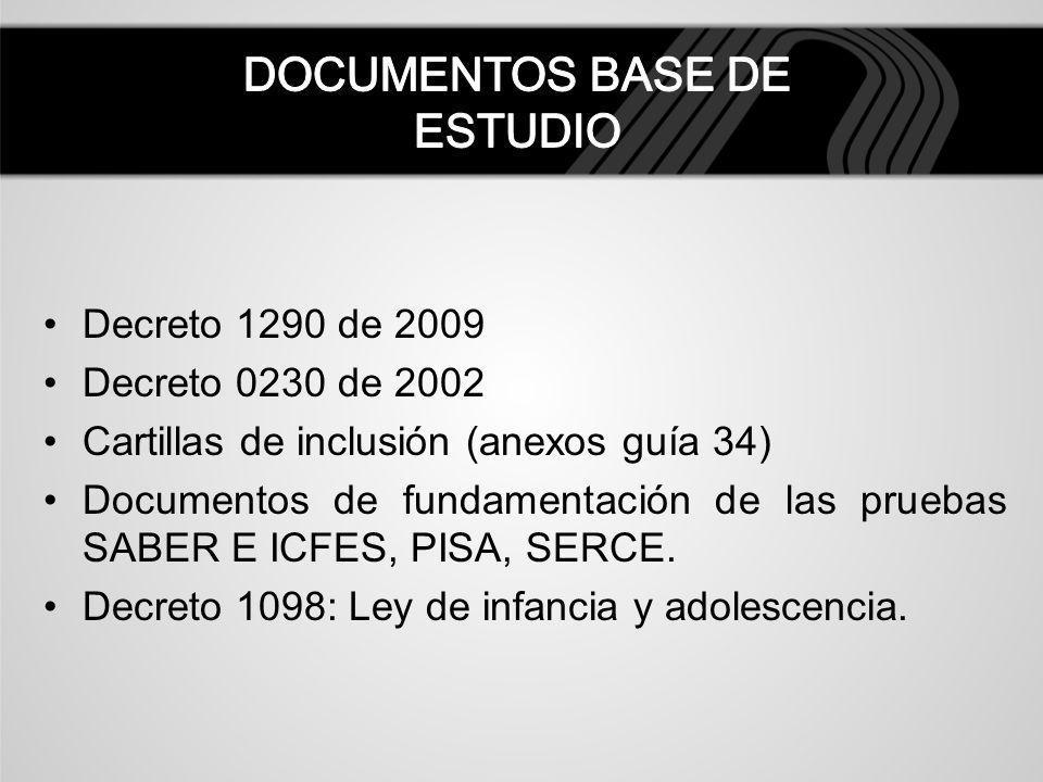 DOCUMENTOS BASE DE ESTUDIO