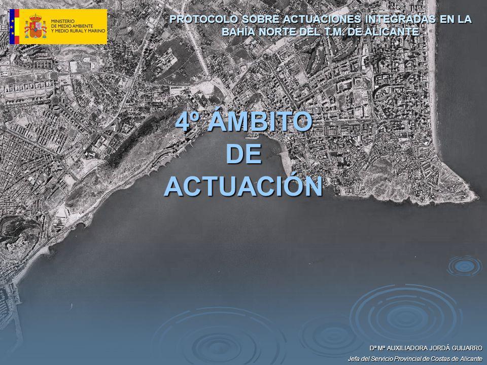 PROTOCOLO SOBRE ACTUACIONES INTEGRADAS EN LA BAHÍA NORTE DEL T. M