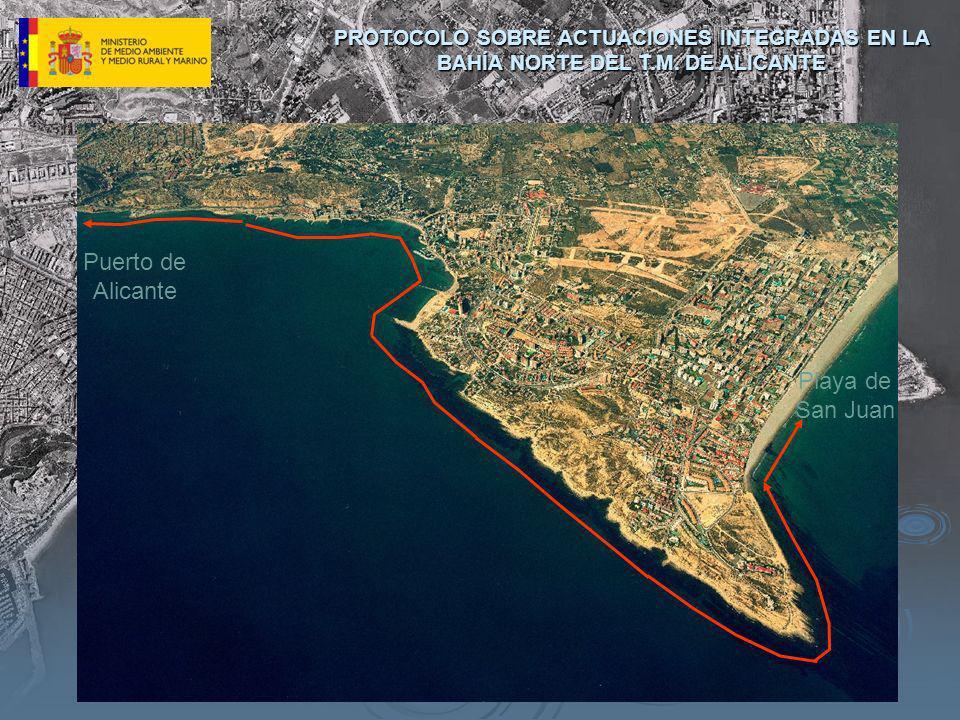 Puerto de Alicante Playa de San Juan