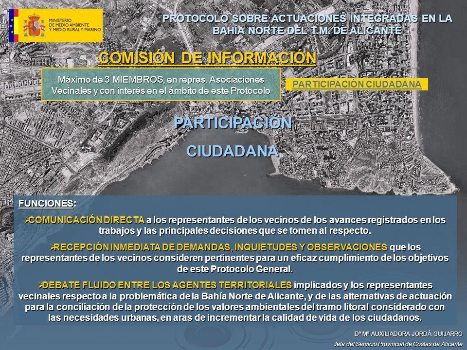 COMISIÓN DE INFORMACIÓN PARTICIPACIÓN CIUDADANA