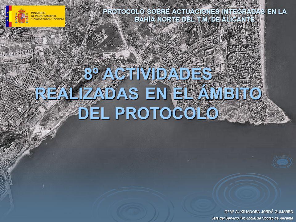 8º ACTIVIDADES REALIZADAS EN EL ÁMBITO DEL PROTOCOLO