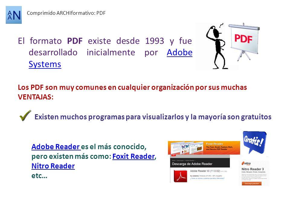 Comprimido ARCHIformativo: PDF
