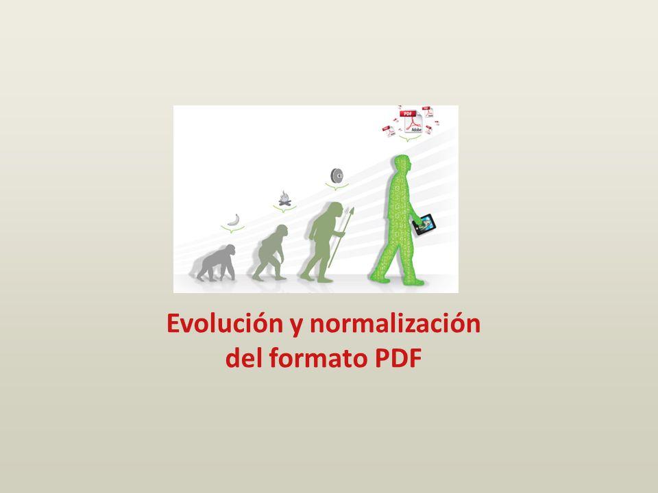 Evolución y normalización