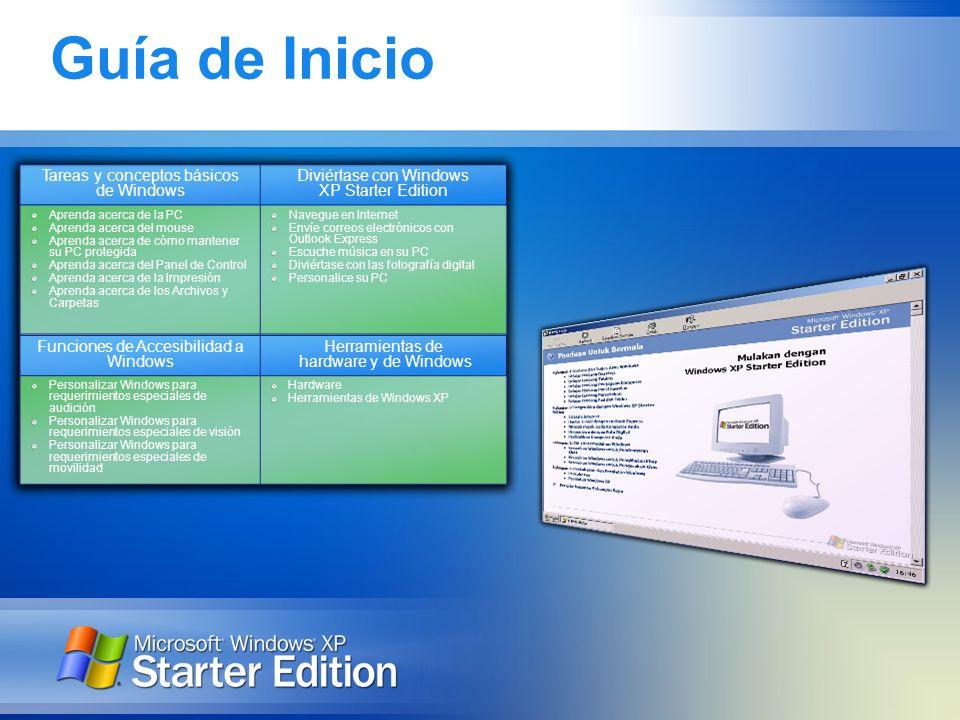 Guía de Inicio Tareas y conceptos básicos de Windows