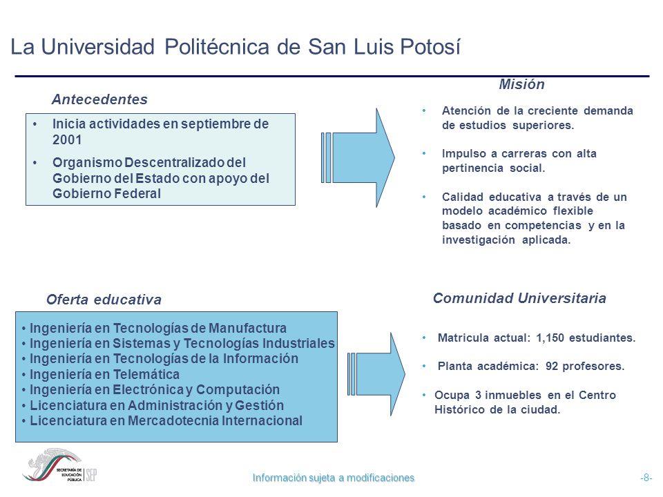 La Universidad Politécnica de San Luis Potosí