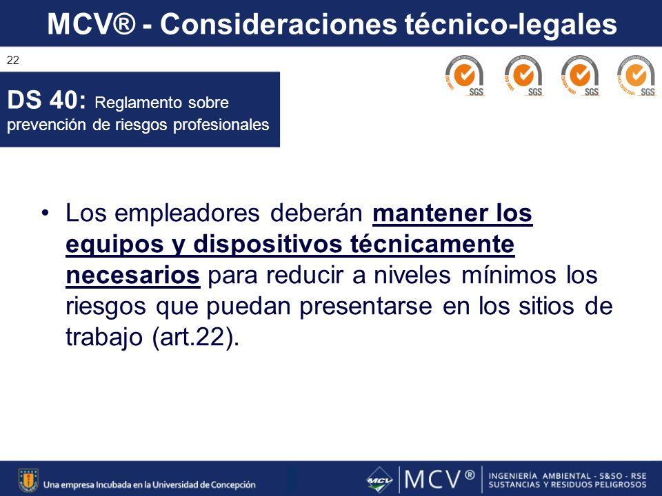 DS 40: Reglamento sobre prevención de riesgos profesionales
