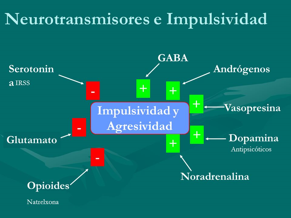 Neurotransmisores e Impulsividad