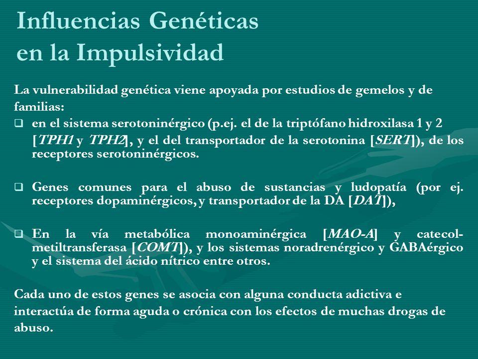 Influencias Genéticas en la Impulsividad