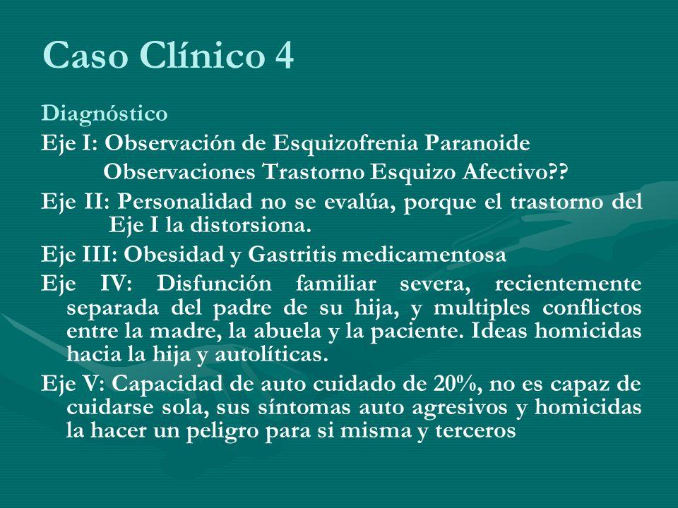 Caso Clínico 4 Diagnóstico