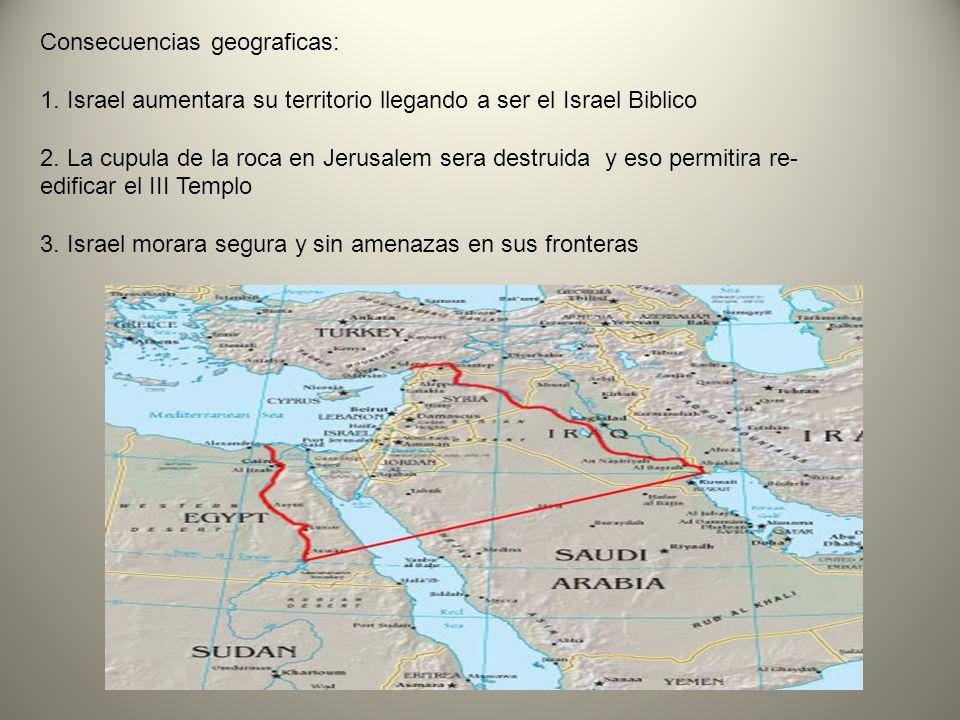 Consecuencias geograficas: