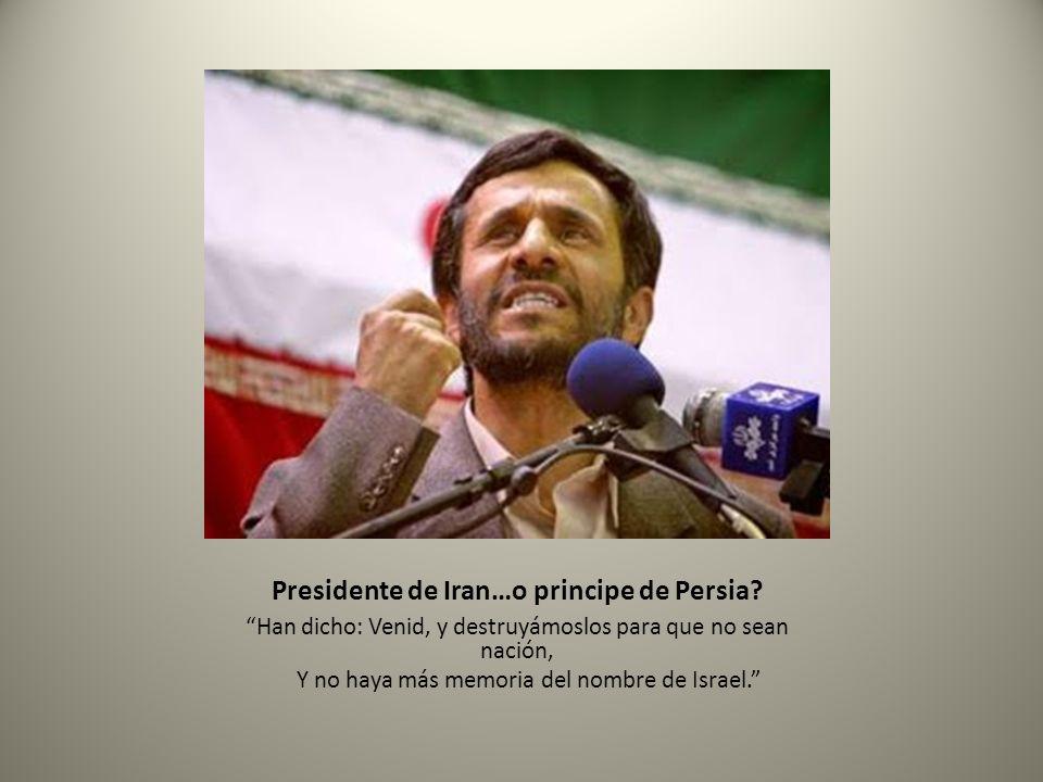 Presidente de Iran…o principe de Persia